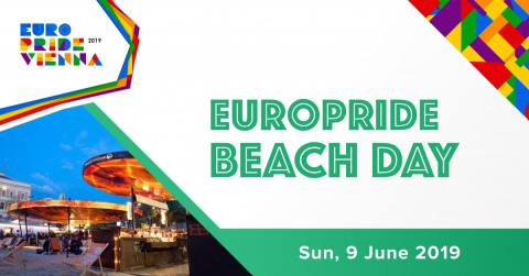 EuroPride Beach Day Event Cover
