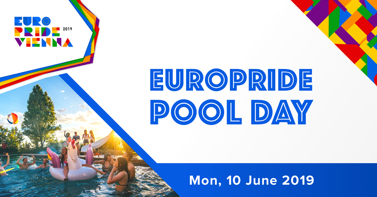 EuroPride Pool Day Event Cover